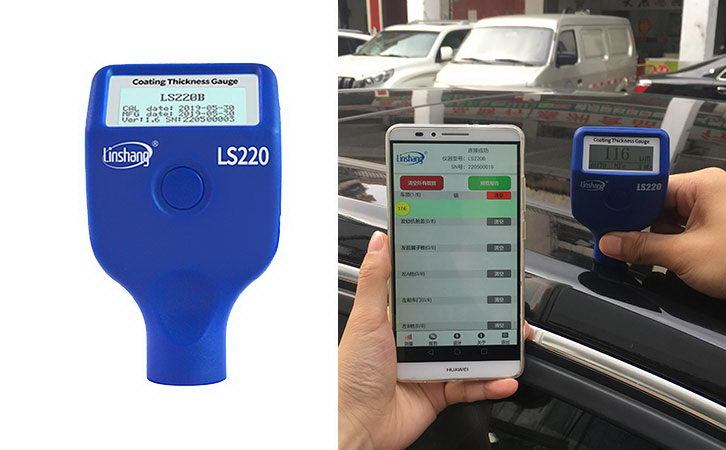 New Product: LS220B Paint Meter for Cars