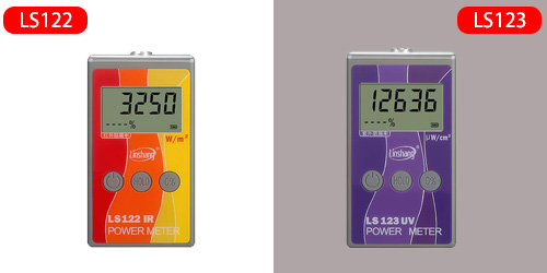 Infrared Power Meter and UV Power Meter