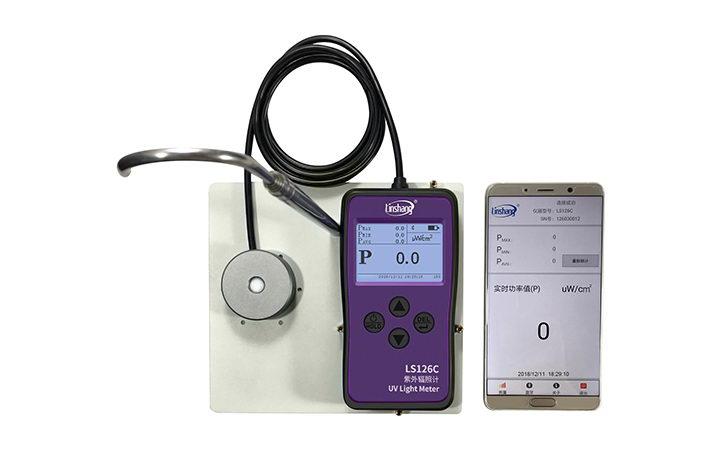 LS126C UV radiation meter