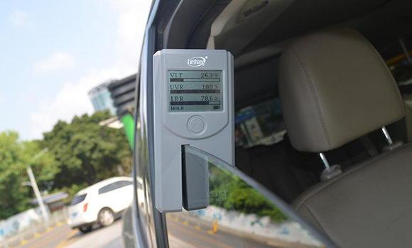 portable car window tint checker
