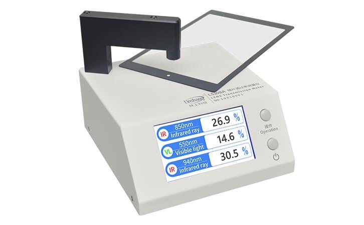 light transmission meter test ir ink hole