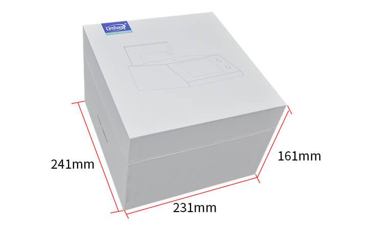 LS108H PC material light transmittance tester packaging
