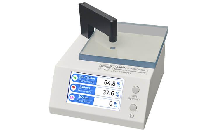 LS108H Transmittance Tester Test Acrylic