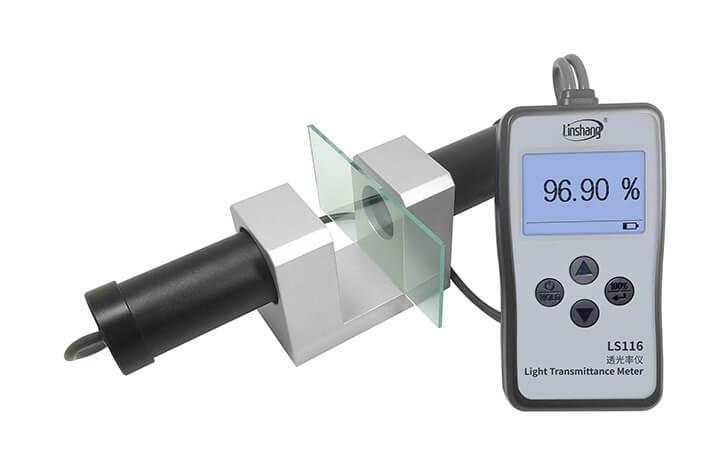 light transmittance meter measure ultra clear glass
