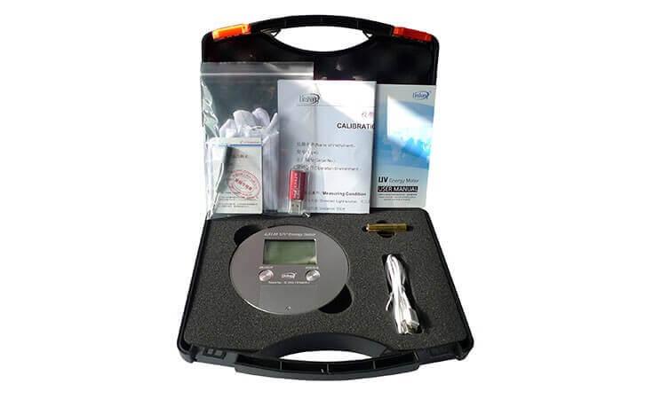LS120 UV energy meter packing box