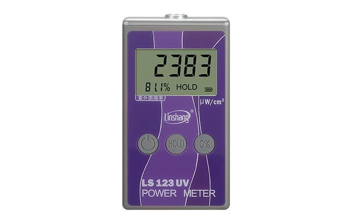 UV power meter