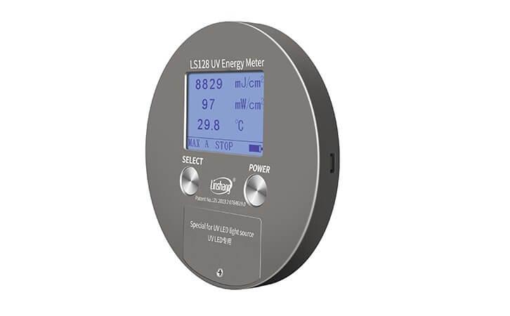 LS128 UV power meter side face