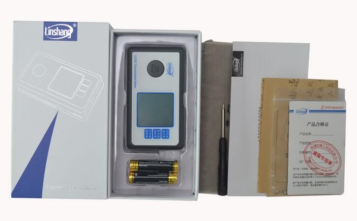 solar film transmission meter