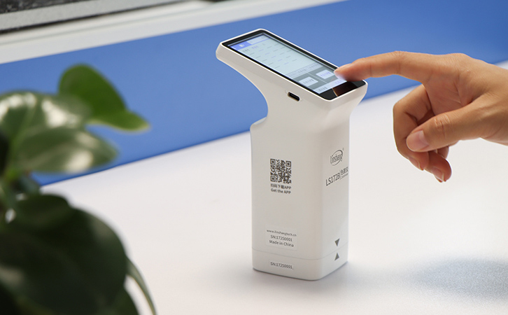portable colorimeter with huge touch screen