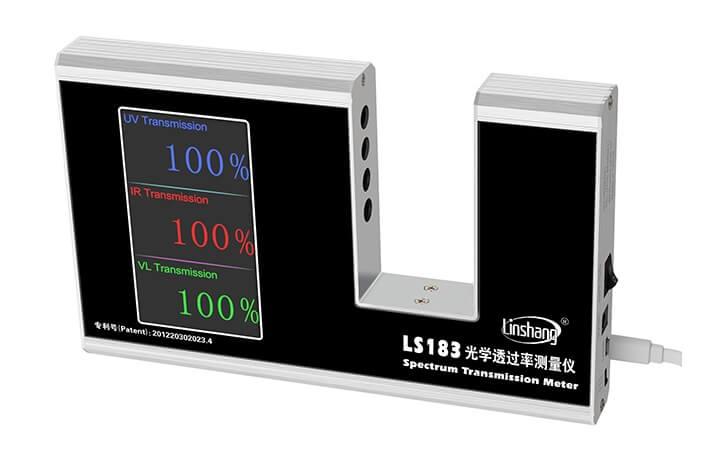 Infrared transmission meter