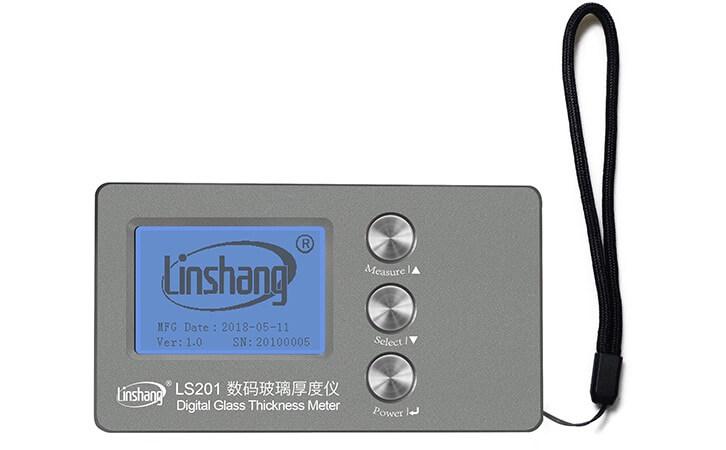 LS201 Digital Glass Thickness Meter