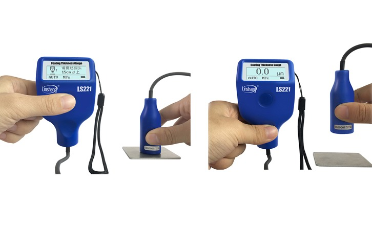 221 coating thickness meter