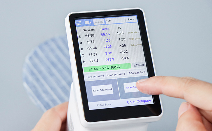 3.5-inch touch screen