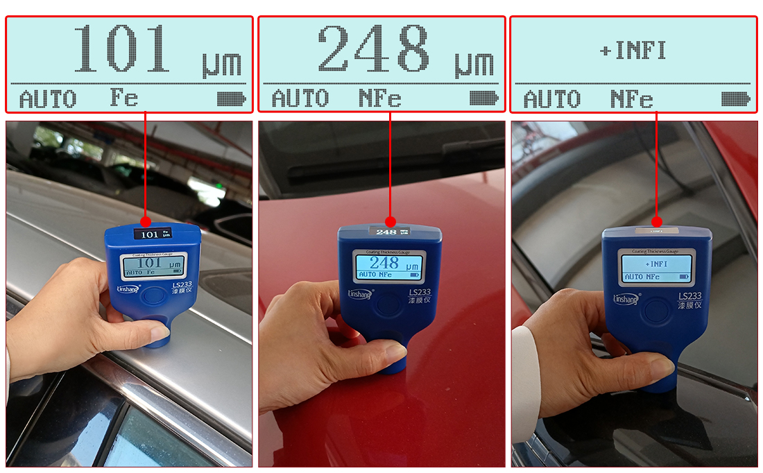 3 measurement modes