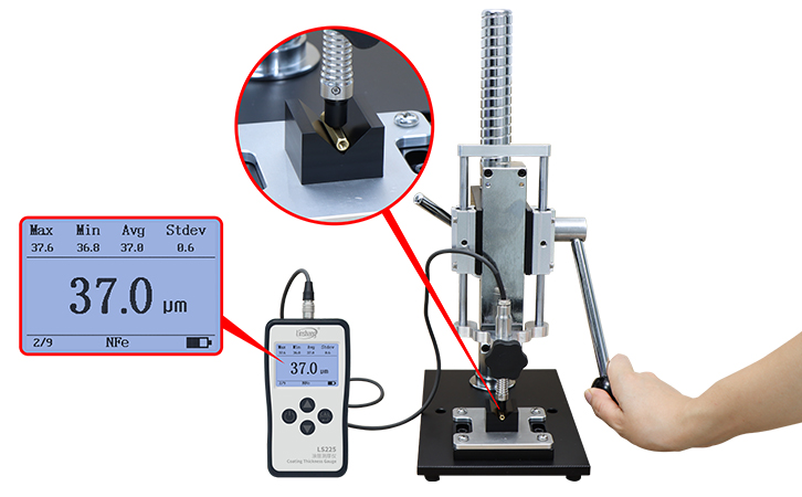 coating thickness tester test small materials