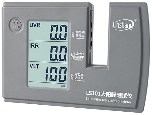 LS101 solar film transmission meter self-calibration