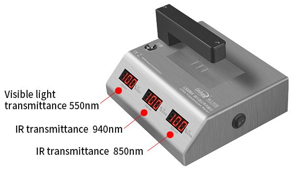 LS108A lens transmittance tester real-time calibration