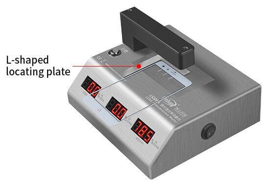 lens transmittance meter L-shaped locating plate