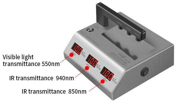 infrared transmittance meter