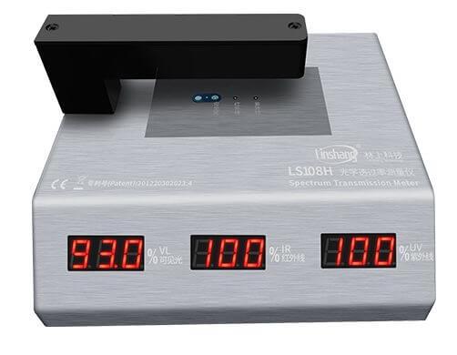 LS108H light transmittance meter test small size materials