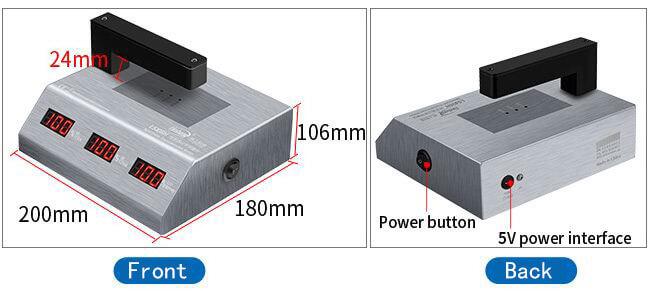 LS108H PC visible light transmission meter appearance