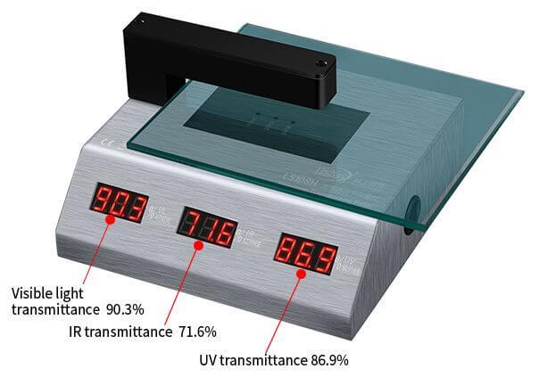 LS108H light transmittance tester test glass