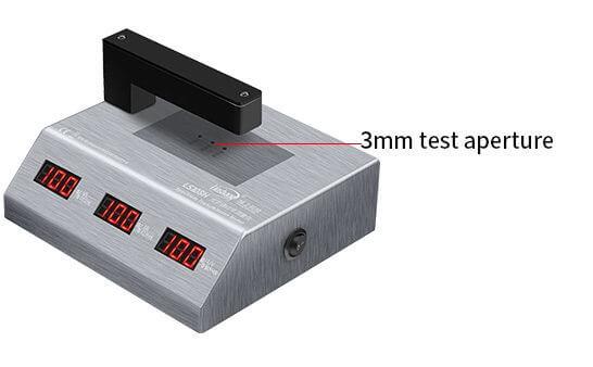 LS108H visible light transmission meter test aperture