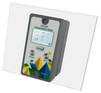 LS110A window tint meter laser alignment