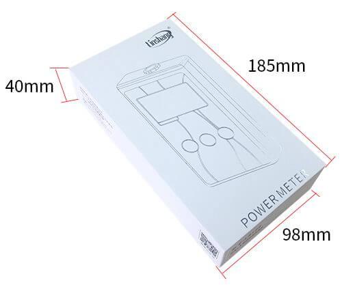 LS123 UV power meter package