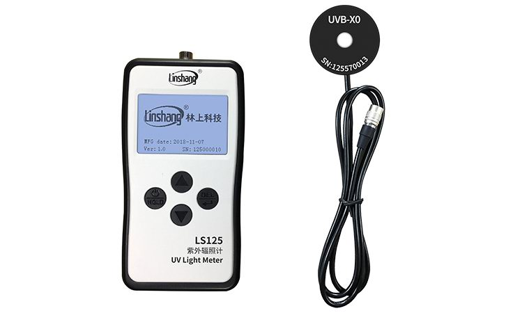 LS125 UV Light Meter+UVB-X0 Probe