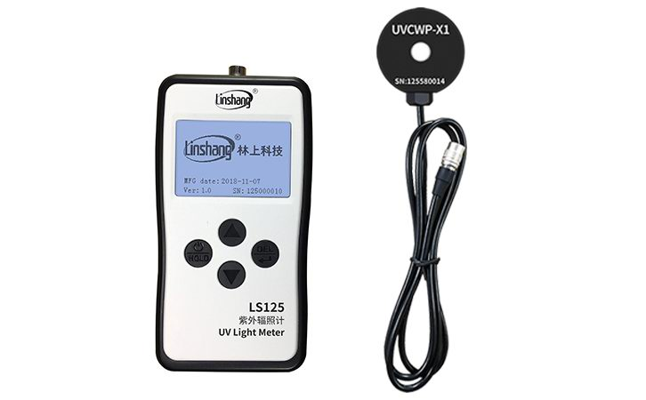 LS125 UV Light Meter+UVCWP-X1 Probe