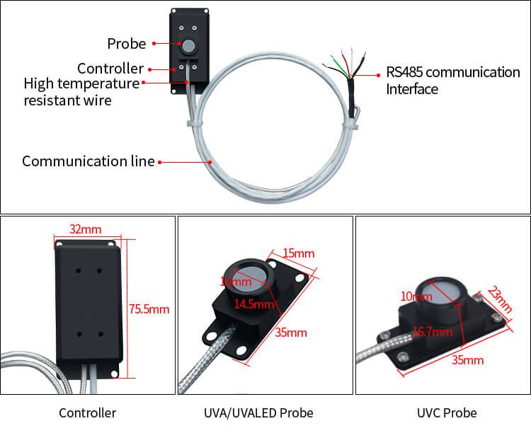 UV digital probe