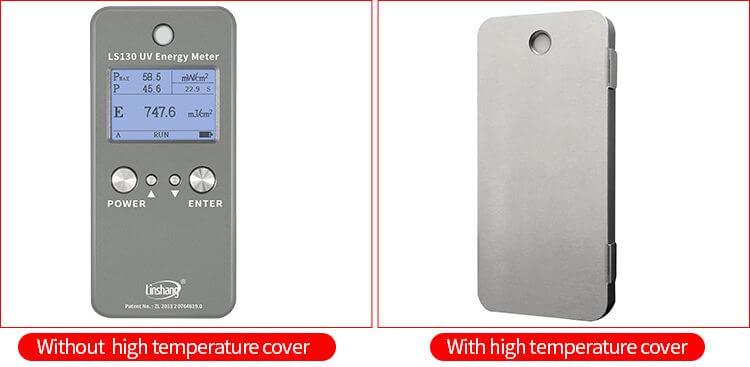 LS130 ultraviolet energy meter high temperature cover display (optional)