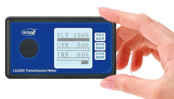 smal size solar film tester