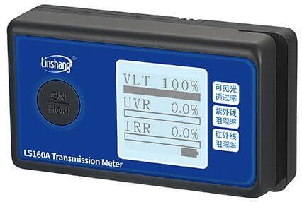 solar film tester self calibration