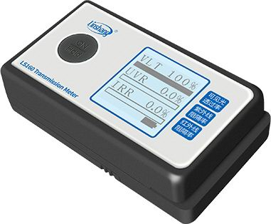 LS160 window film transmission meter pass the self-calibration