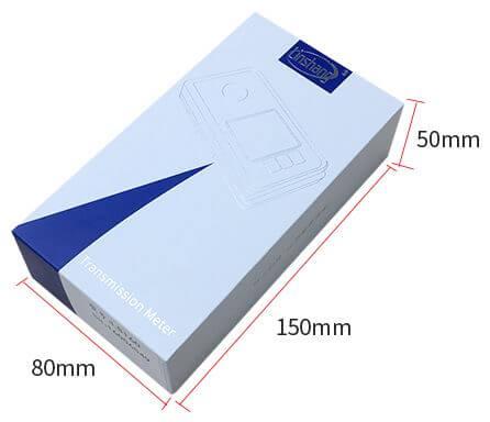LS160 portable solar film transmission meter package