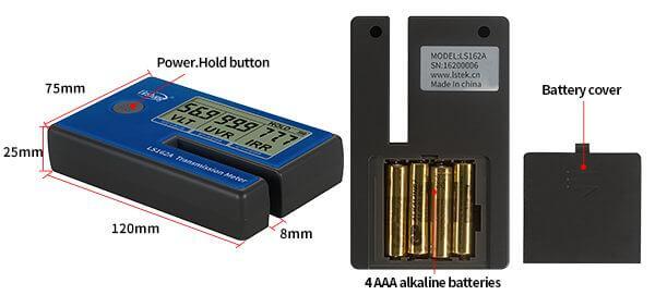 transmission meter appearance