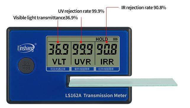 LS162A window tint meter test stick-film glass