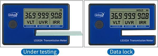 LS162A transmission meter data lock function