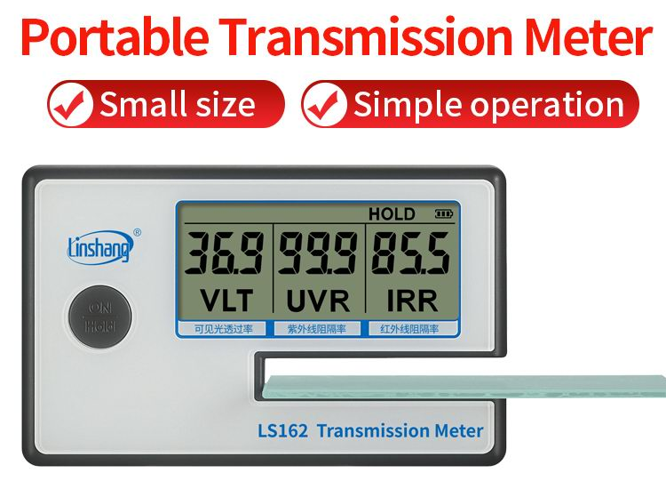 LS162 transmission meter display