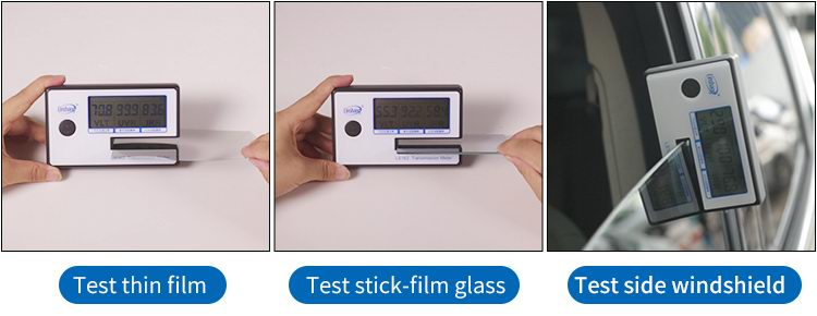 LS162 solar film tester test different materials