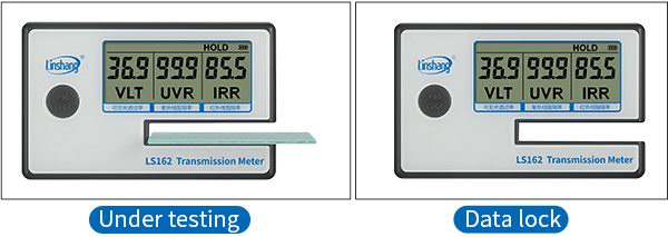 transmission meter data lock function