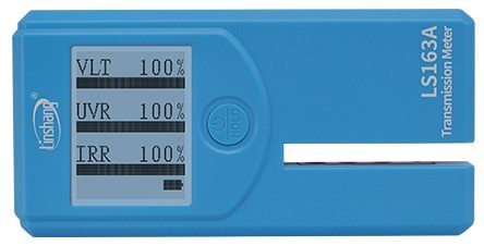 LS163A window tint meter pass self-calibration