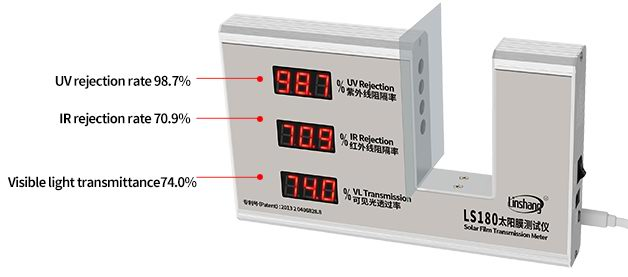 window film transmission meter