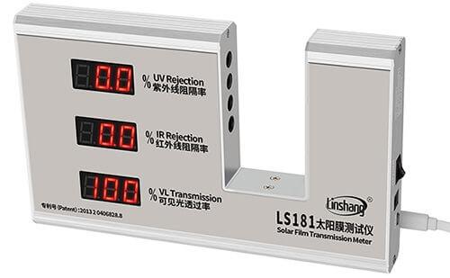 LS181 window tint meter pass self-calibration