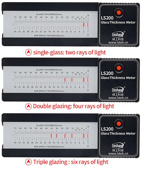 glass thickness gauge