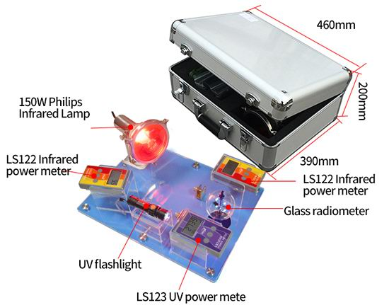 Solar film reflection tester accessories