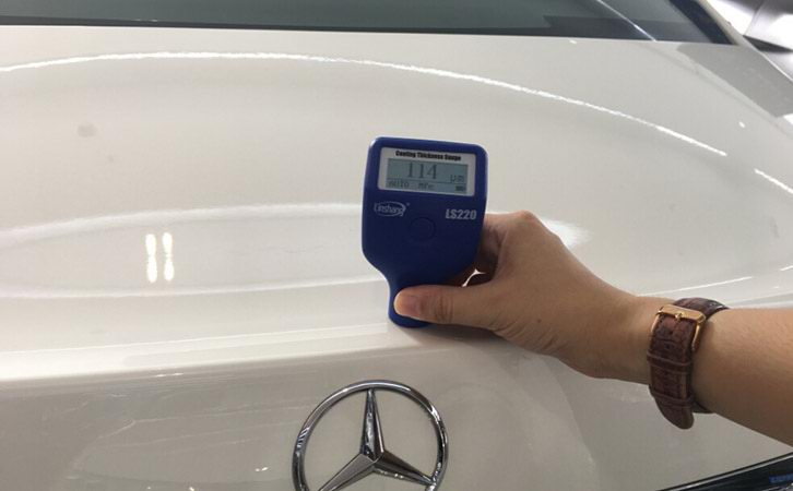 Application of Paint Meter for Cars in Automobile Production