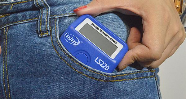 LS220B car paint meter dimension